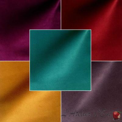 Sweet Love (23 coloris) Rouleau tissu ameublement velours ras pour siège Thevenon La pièce ou demi-pièce