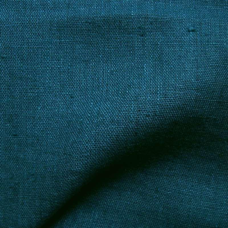 Tissu lin lav uni thevenon de l 39 l gance et du raffinement - Tissu lin lave au metre ...