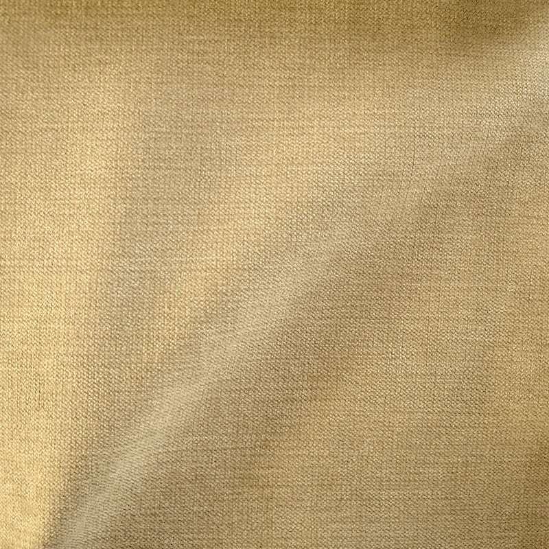 """Vente en gros tissu """"Douceur"""" velours uni sable Thevenon Paris"""