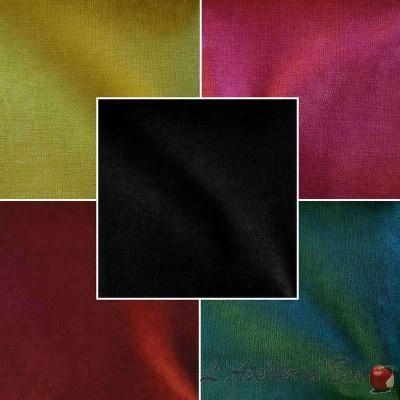 Douceur (25 coloris) Rouleau tissu ameublement velours uni Thevenon La pièce ou demi-pièce