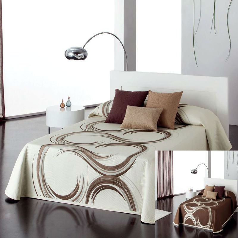 Liked 4 sizes bedspread reversible Reig Marti C/05