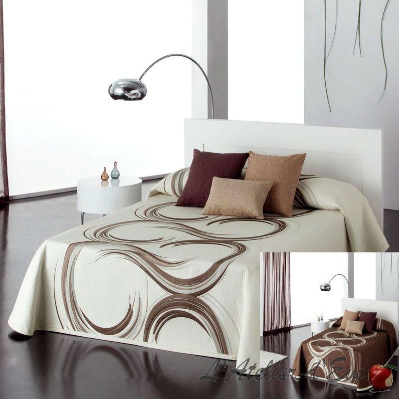 couvre-lit-reversible-chocolat-blanc-reig-marti