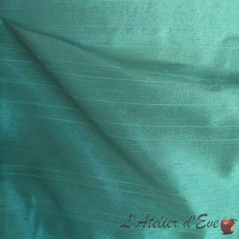 imperial-céladon-tissu-aspect-soie-rideau-thevenon-paris
