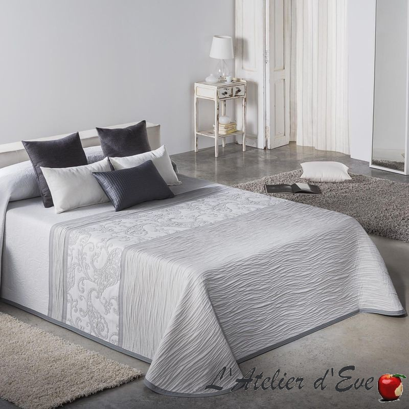 Carvex Couvre-lit gris Reig Marti