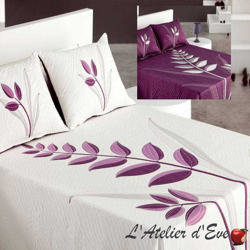 Nayla 4 tailles Couvre-lit réversible violet Reig Marti C/09