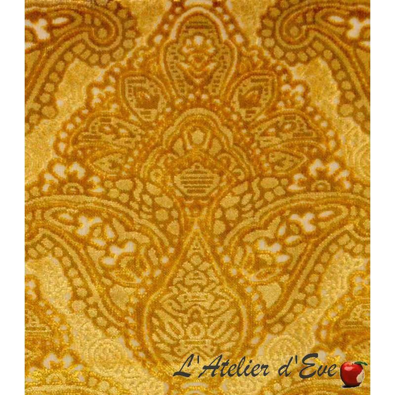 tissu sultan rouleau tissu velours gaufr thevenon paris. Black Bedroom Furniture Sets. Home Design Ideas