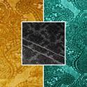 Sultan (3 colors) fabric roll special embossed velvet upholstery seat Thévenon room/half room