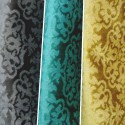 Constantinople (3 coloris) Rideau à oeillets prêt à poser velours gaufré Thevenon Le Rideau