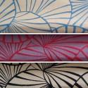 Nympheas (3 coloris) Rouleau tissu ameublement jacquard réversible pour siège Thevenon Pièce/Demi-pièce