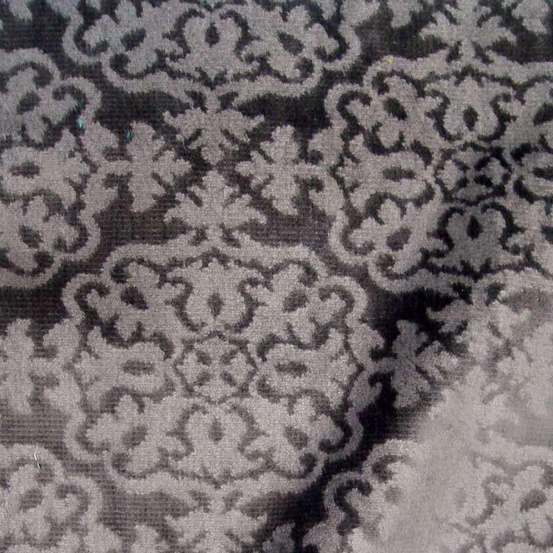 Sultan (3 colors) fabric upholstery embossed velvet Thévenon