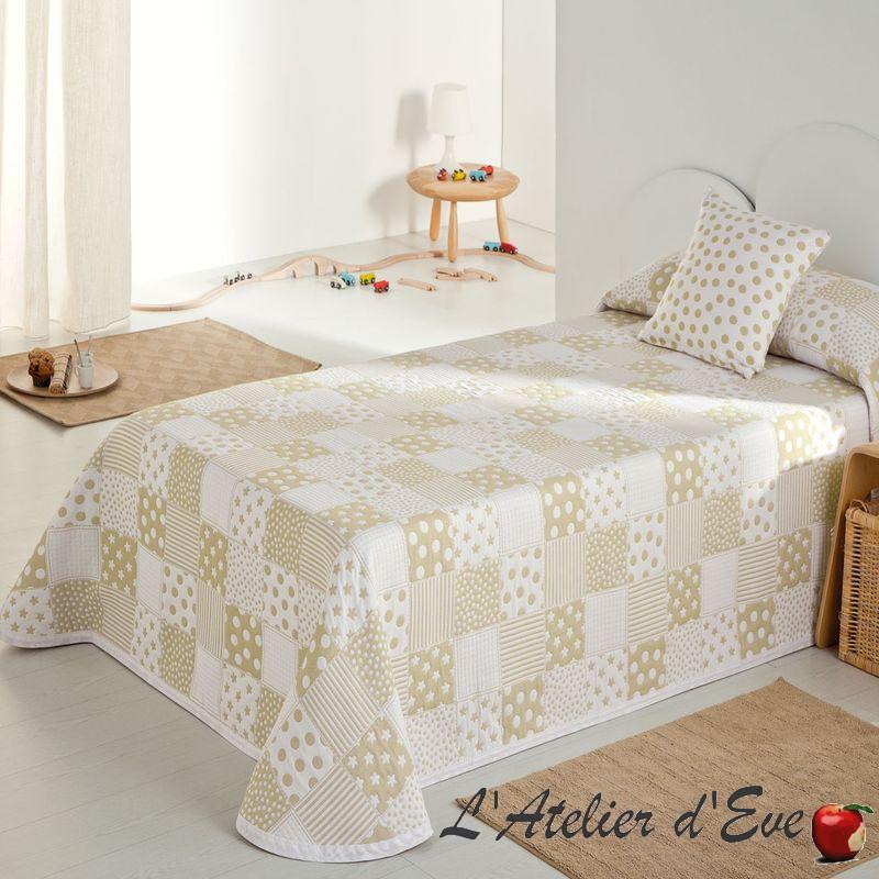 couvre lit enfant pas cher Boutis blanc, couvre lit pas cher, jetés de lit sur mesure couvre lit enfant pas cher