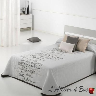 Letter 4 size bedspread reversible Reig Marti C/01