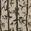 Take Tissu ameublement jacquard motif bambous Thevenon