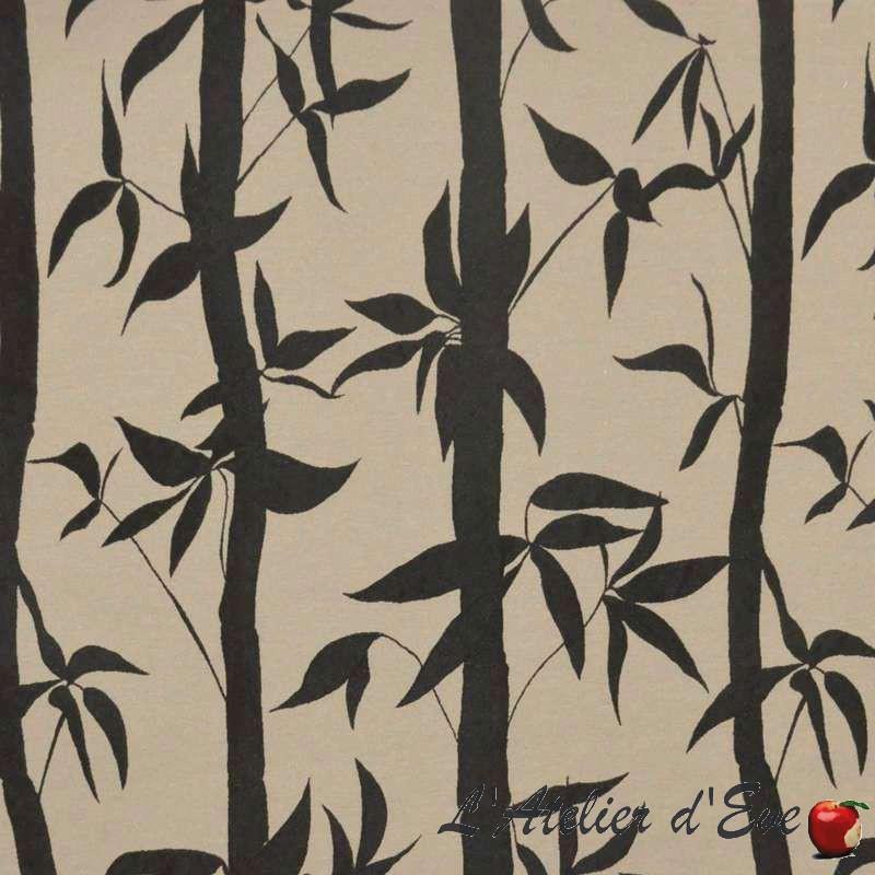 Take tissu ameublement style japonais jacquard thevenon for Ameublement japonais
