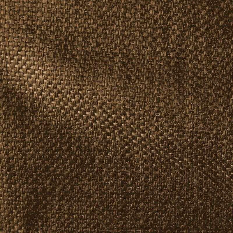 Bellini - Rideau à oeillets prêt poser et sur mesure chocolat par L'Atelier d'Eve, création française