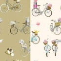 A bicycle (2 colours) canvas bachette cotton wide for seat Thévenon