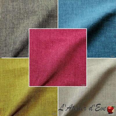 Amigo (13 coloris) Toile ameublement unie L.140cm Thevenon le mètre