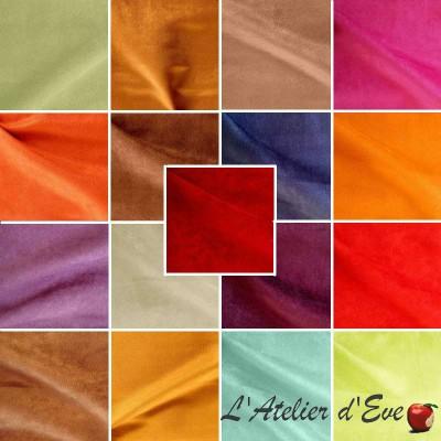 Stockholm 22 coloris Tissu ameublement uni pour siège aspect alcantara