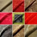 Cocoon furnishings for seats United washable velvet fabric