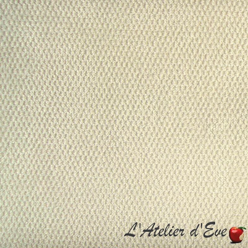 Whitney Tissu ameublement uni L.140cm abricot A019.1716 le metre