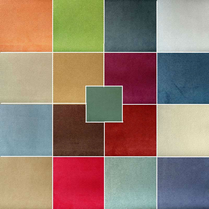 Collection tissu ameublement velours whitney pas cher lavable vendu au metre