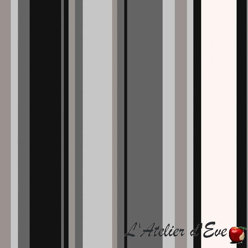 Enduit Paradoxe noir/gris Tissu traité teflon Thevenon