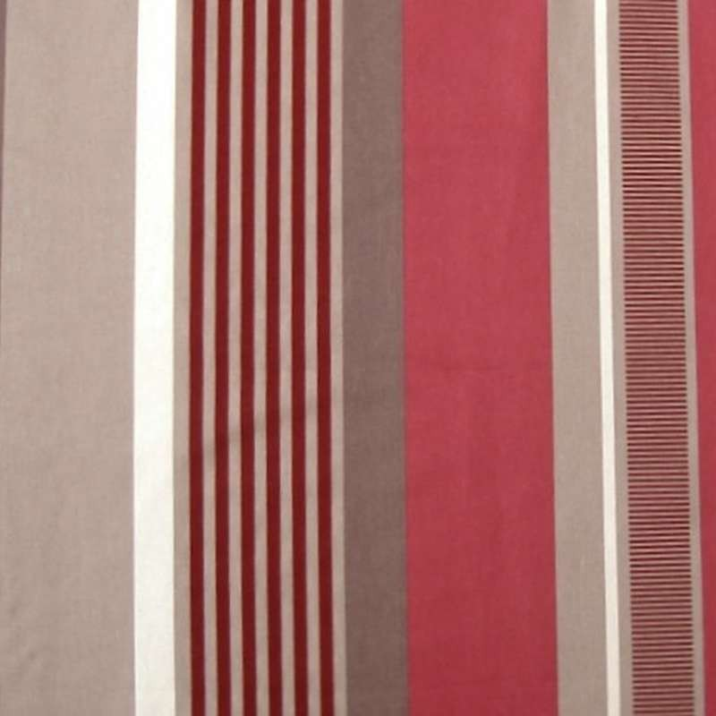 Tissu Othello : Tissu ameublement grande largeur rouge par Thevenon Paris