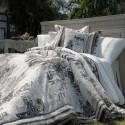 Vue de Montmartre jete de lit coton matelassé sans piquage Thevenon
