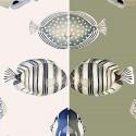 Copacabana (2 coloris) Tissu ameublement tapissier bachette coton grande largeur Thevenon