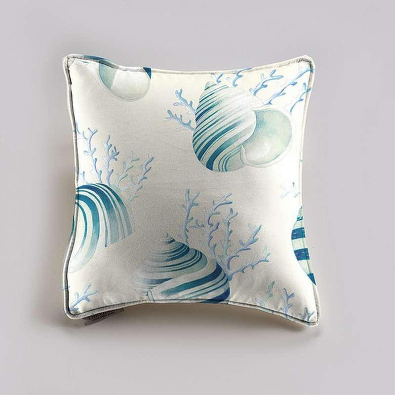 A bicycle cushion/pillow case (2 dimensions) fabric cotton Thévenon