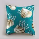 OK coral cushion/pillow case (2 dimensions) fabric cotton Thévenon