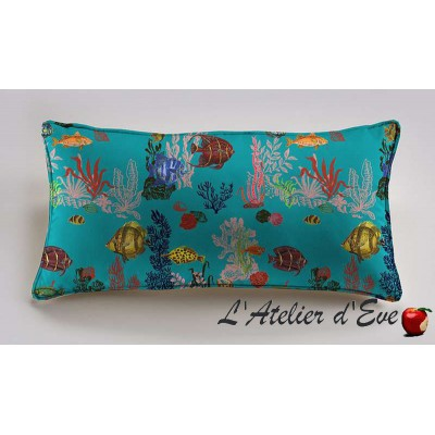 Under the sea cushion 60x30cm cotton Percale Thévenon Nathalie Lete