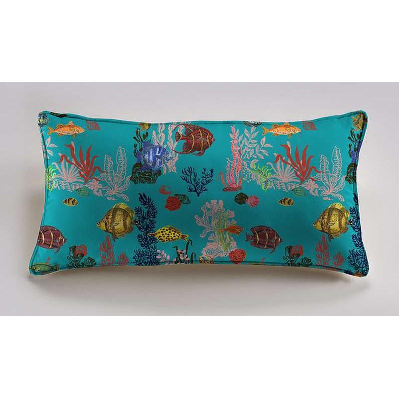 Under the sea cushion 60x30cm cotton Percale Thévenon Nathalie Lete