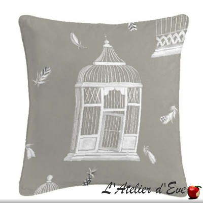 Bagatelle cushion/pillow case (2 dimensions) fabric cotton Thévenon