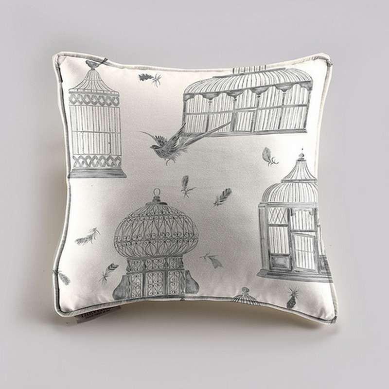 Bagatelle cushion/pillow case (2 dimensions) fabric cotton Thévenon
