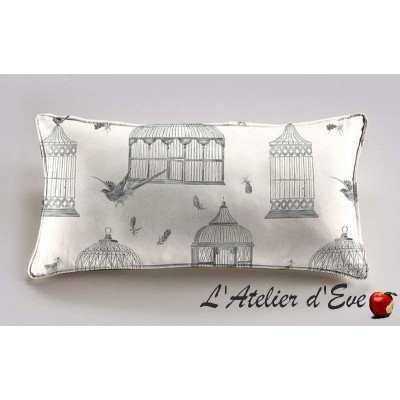 Bagatelle cushion 60x30cm fabric cotton Thévenon