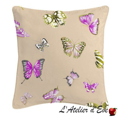 Olivia cushion/pillow case (2 dimensions) fabric cotton Thévenon