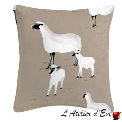 Pampa cushion/pillow case (2 dimensions) fabric cotton Thévenon