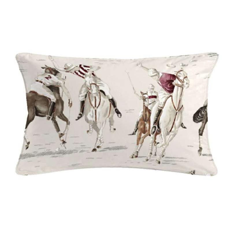Pampa cushion 60x30cm fabric cotton Thévenon