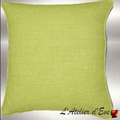 Polo cushion/pillow case (2 dimensions) fabric cotton Thévenon