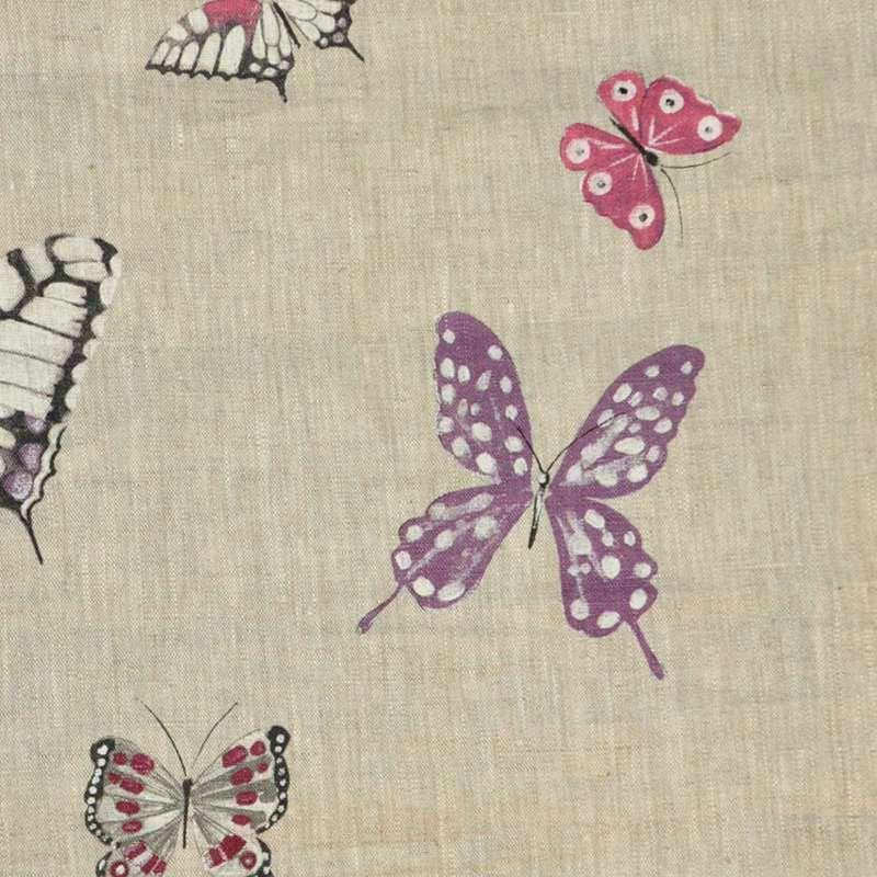 """Achat tissu ameublement 100% lin """"Olivia"""" de Thevenon Paris pour tapissier"""
