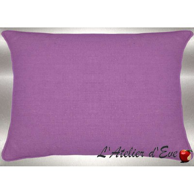 Parma washed linen cushion 60x30cm fabric cotton Thévenon