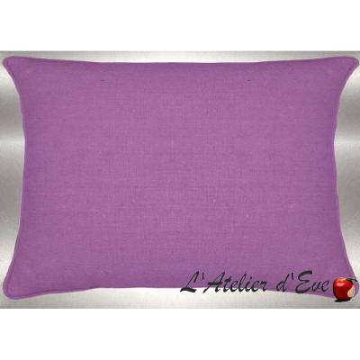 Parma washed linen cushion 60x30cm fabric cotton Thévenon