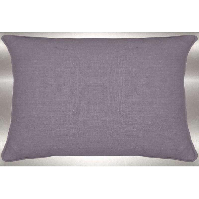 Washed linen cushion 60x30cm fabric cotton Thévenon