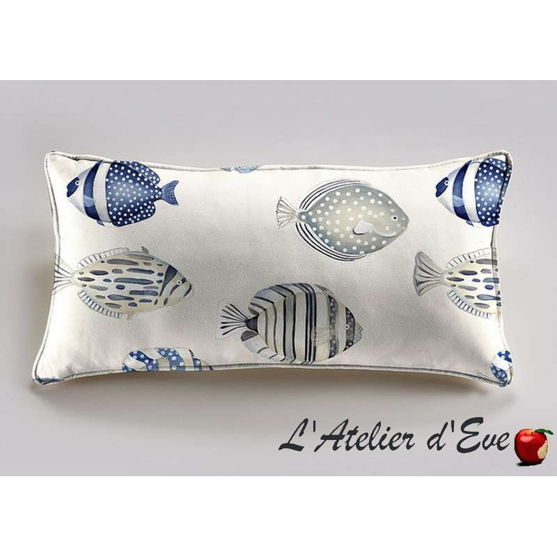 A bicycle cushion 60x30cm fabric cotton Thévenon