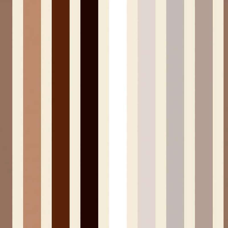 Lambada : Rouleau tissu ameublement et siège motif rayure lin/crème Thevenon