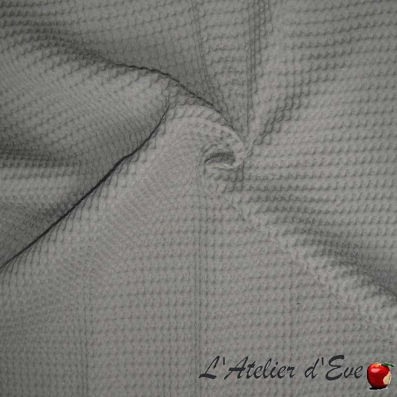 piqu de coton gaufr grande largeur pour plaid couvre lit. Black Bedroom Furniture Sets. Home Design Ideas