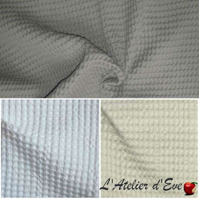 Baladi (3 colours) piqued cotton wide for seats Thévenon