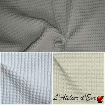 Baladi (3 coloris) Rouleau piqué de coton ameublement et siège Thevenon Pièce/Demi-Pièce