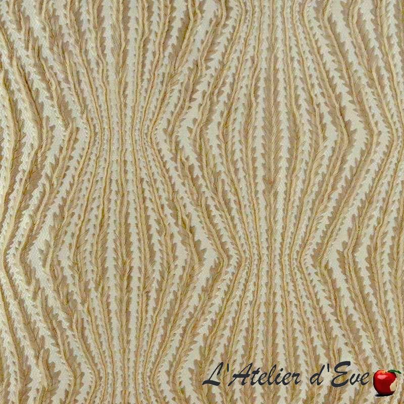 Virgo (3 coloris) Tissu ameublement jacquard fantaisie Thevenon